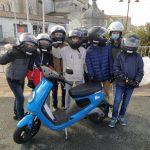 Sensibilisation au code de la route et pratique du scooter électrique en 4ème avec le secteur jeunesse