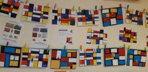 Des rectangles, des carrés pour un rythme coloré