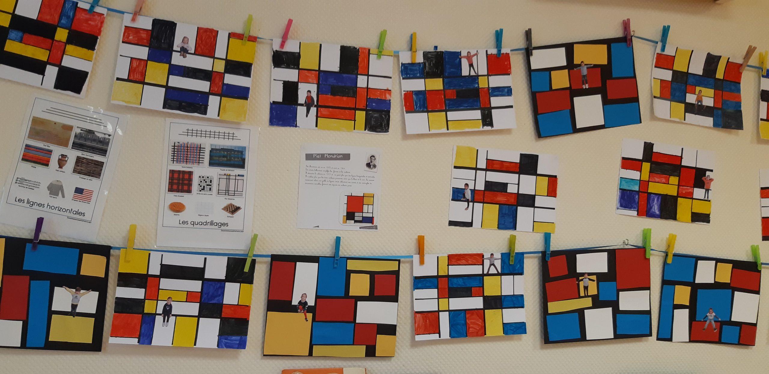 You are currently viewing Des rectangles, des carrés pour un rythme coloré