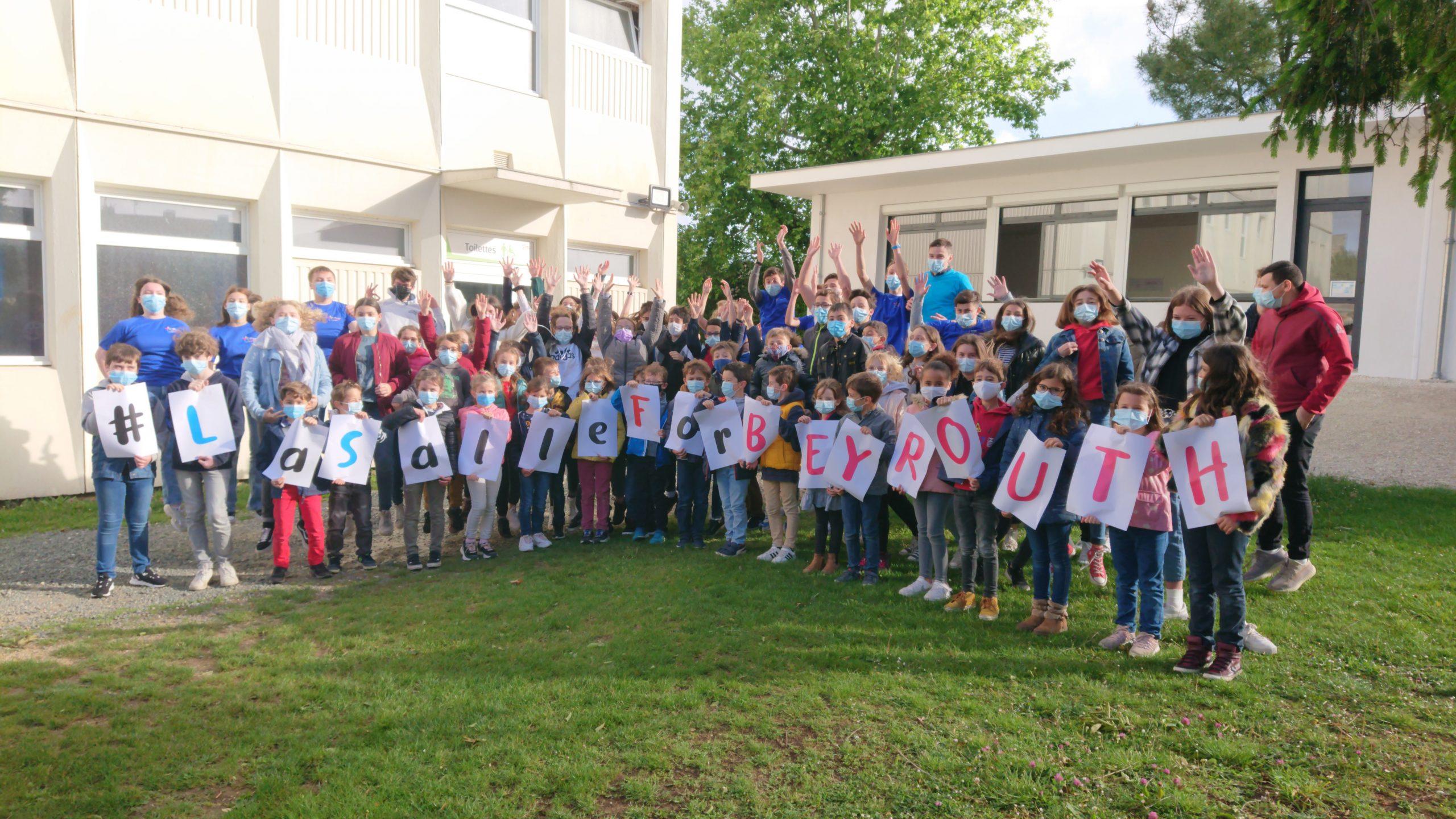 #LaSalleforBeirut [Fondation La Salle France]